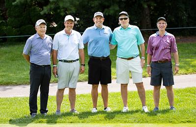 Bill Haas Jr with Darryl Rardon, Stave Bowen, Paul Berg & Greg Wolf