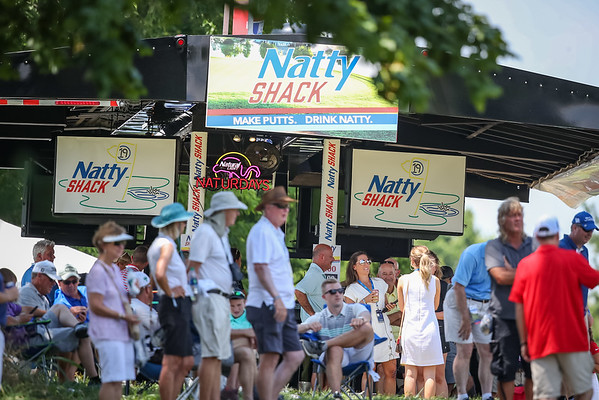 The Natty Shack is just getting going. $4 beers become $3 beers after a birdie.