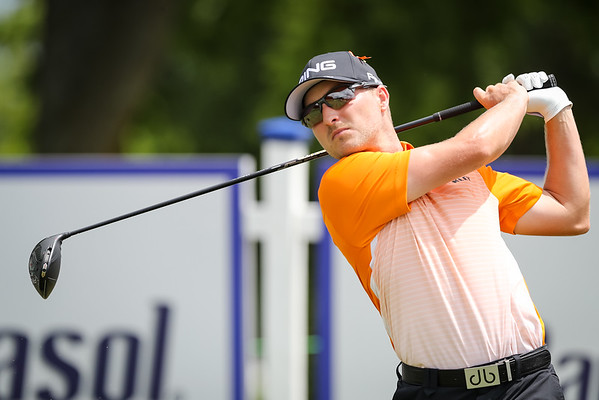 Austin Cook tees off on #1 in the final round. 7.21.19