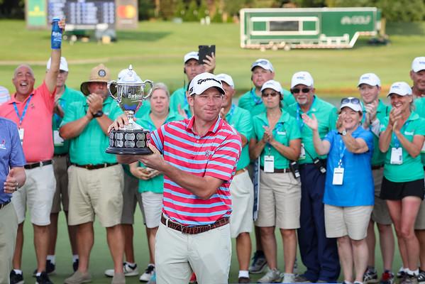 Jim Herman wins the Barbasol Championship