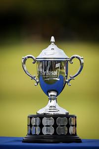the Barbasol trophy