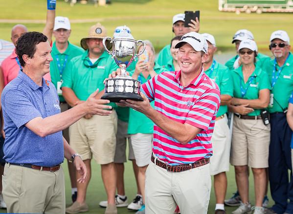 Jim Herman wins the Barbasol Championship.