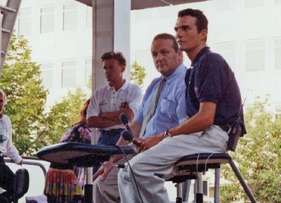 Virenque Leblanc 1995 TdF Prologue eve St  Brieuc