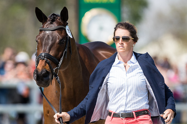 Erin Sylvester & Paddy The Caddy at the First Inspection 4.24.19.