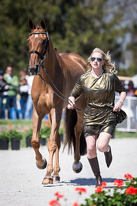 RF Demeter, and Marylyn Little, at the Rolex Three-Day Event 4.23.14.