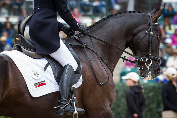 High Times, and Jennifer McFall, at the Rolex Three-Day Event 4.25.14.