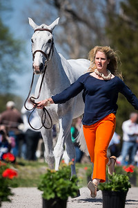 Copycat Chloe, and Allison Springer, at the Rolex Three-Day Event 4.23.14.