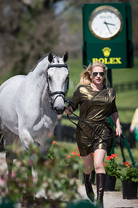 RF Smoke On The Water, and Marylyn Little, at the Rolex Three-Day Event 4.23.14.