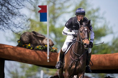William Fox-Pitt and Bay My Hero at Rolex 3-day on 4.26.2014.