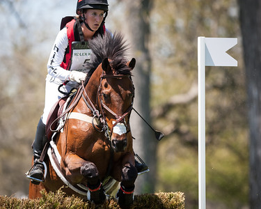 Enchantez, and Lindsey Oaks, at the Rolex Three-Day Event 4.26.14.