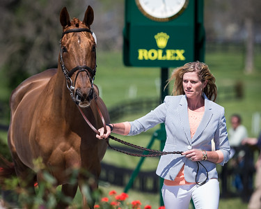 Manoir De Carneville, and Sinead Halpin, at the Rolex Three-Day Event 4.23.14.