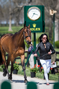 Cambalda, and Jennie Brannigan, at the Rolex Three-Day Event 4.23.14.