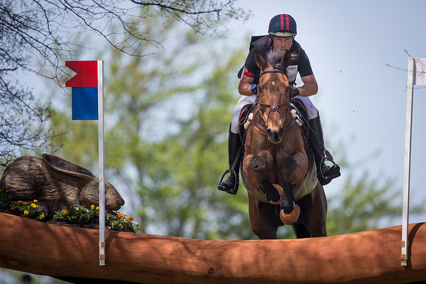 Kilrodan Abbott and Peter Barry at Rolex 3-day on 4.26.2014.
