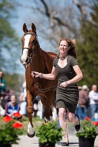 Bellaney Rock, and Selena O'Hanlon, at the Rolex Three-Day Event 4.23.14.