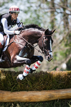 High Times, and Jennifer McFall, at the Rolex Three-Day Event 4.26.14.