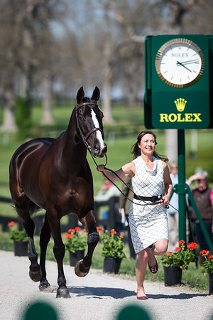 High Times, and Jennifer McFall, at the Rolex Three-Day Event 4.23.14.