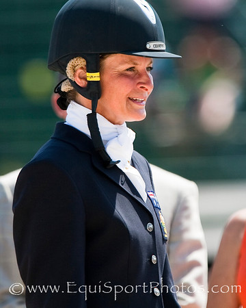 Lucinda Fredericks (Aus) at the Rolex Kentucky Three Day Event 04.26.2009 in Lexington, Ky. (EquiSport Photos)
