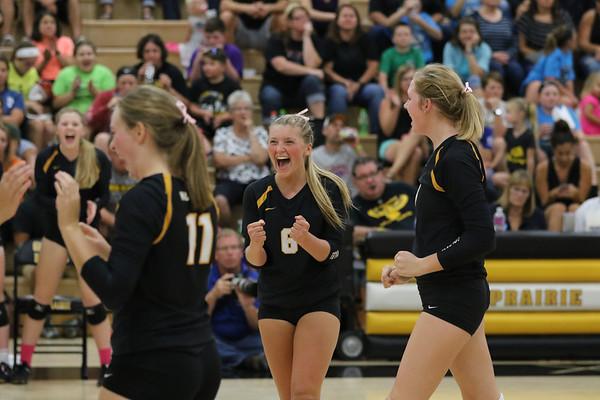 Mid-Prairie Volleyball vs. West Branch