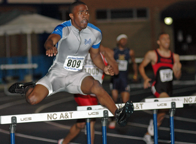 Friday 400M hurdles prelim 01