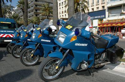 Gendarmerie motos