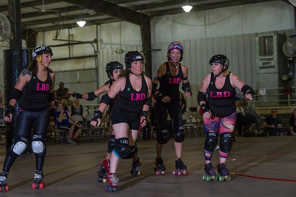 Women's Flat Track Roller Derby