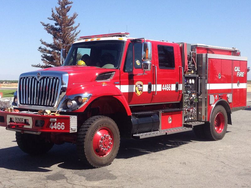 CAL FIRE - E4466 - International / HME