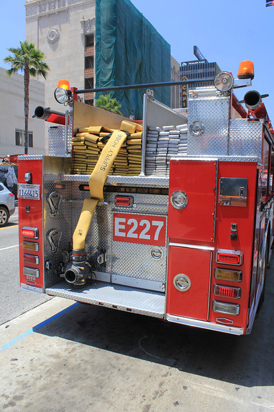 LA City FD Pump 227 Pierce Arrow XT #60616 hosebed (ps)