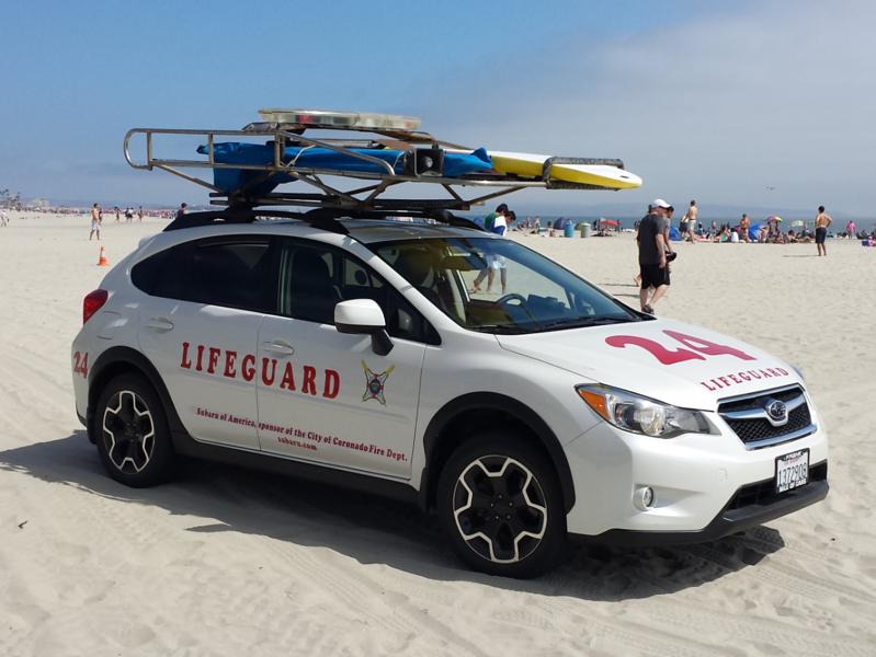 Coronado Lifeguards - Unit 24 Subaru