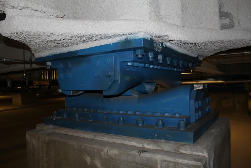 LA City FD Metro earthquake basement
