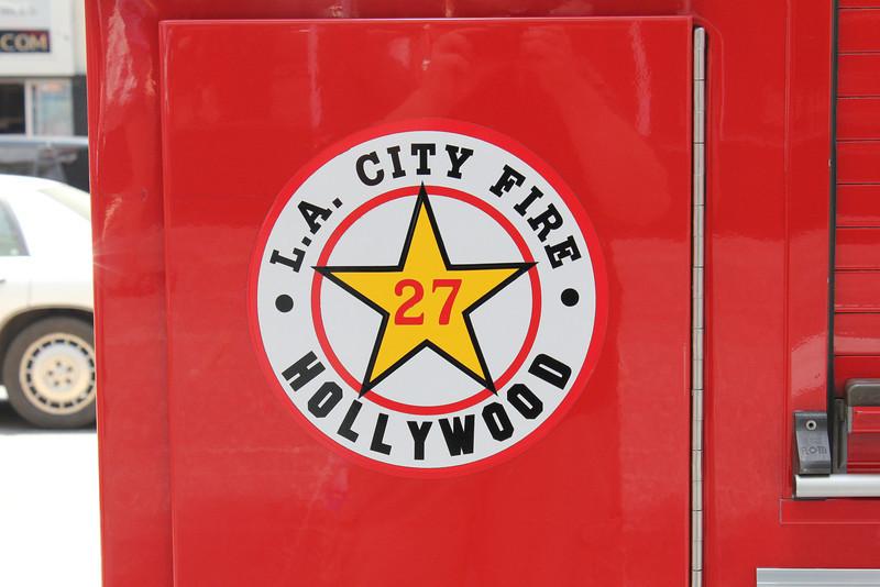 LA City FD Pump 227 Pierce Arrow XT #60616 patch (ps)