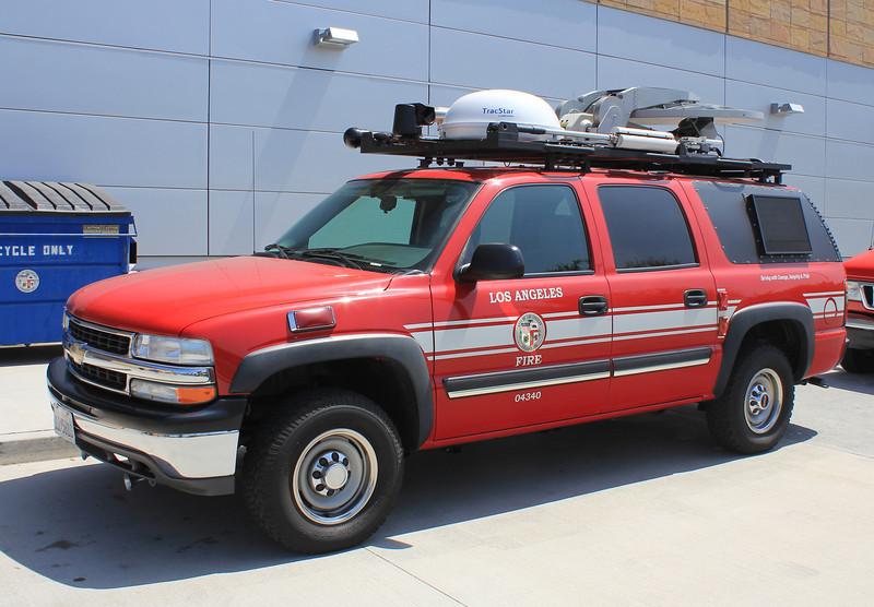 LA City FD Comm Truck Chevy Suburban #04340