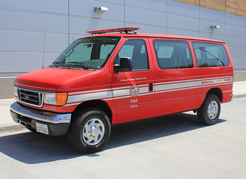LA City FD Metro Ford Van #05236