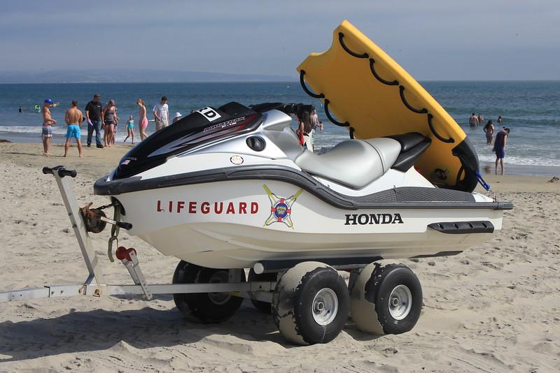 Coronado Lifeguard Honda waverunner