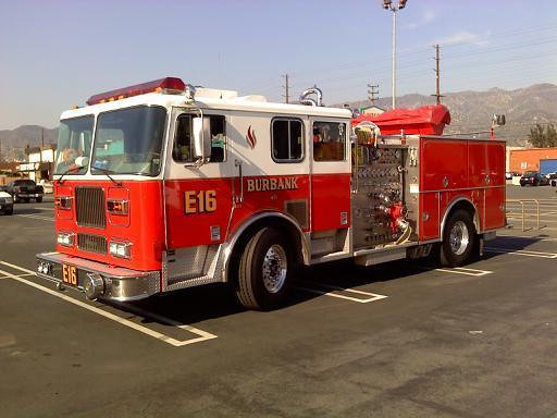Burbank, CA E16 Seagrave - by Mr. Wilson