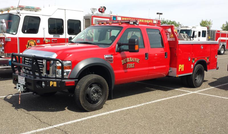 Burbank, CA Patrol 11 Ford F550