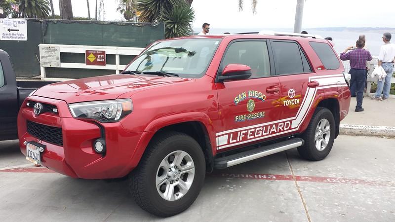 San Diego Lifeguard Toyota 4Runner