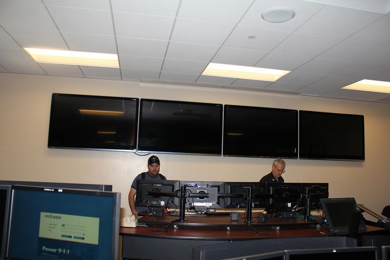 LA City FD Metro training room