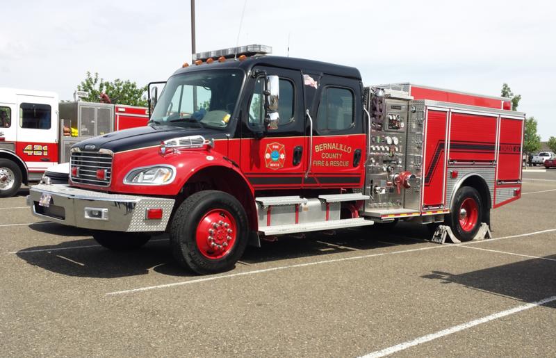 Bernalillo County, NM E54 Freightliner Crimson