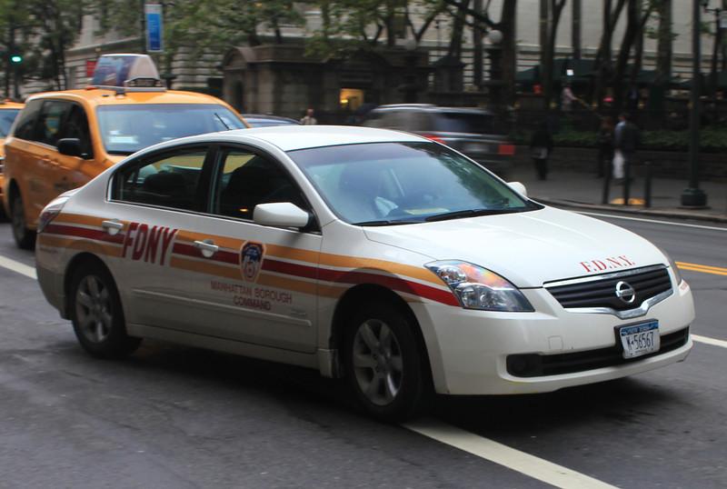 FDNY Manhattan Borough Command Nissan Ultima