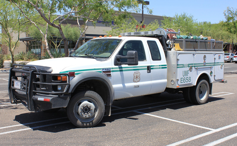 US Forestry Umatilla, OR E658 Ford F550 150gpm 300gwt 12gft #7026