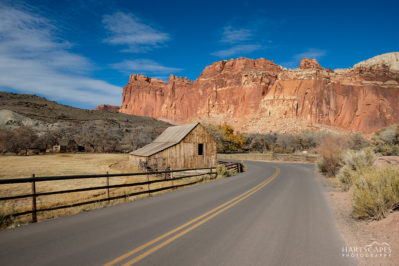 Capitol Reef National Park Barn II