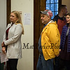 New Hampshire Governor Chris Sununu casts his ballot at the Newfields Town Hall in the 2018 election on Tuesday 11-6-2018, Newfields NH.  Matt Parker Photos