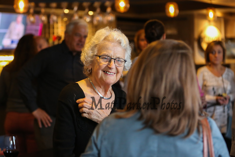Galley Hatch's Ellie Whitney retires after 44 years employment on Monday 4-30-2018 @ Tinos Greek Kitchen, Hampton, NH.  Matt Parker Photos