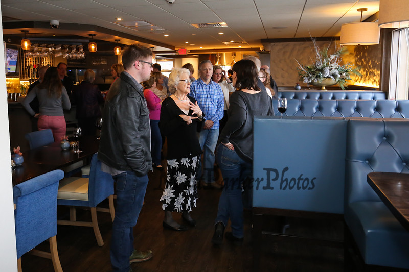 Galley Hatch's Ellie Whitney retires after 44 years employment on Monday 4-30-2018 @ Tinos Greek Kitchen, Hampton, NH.  Matt Parker Photos