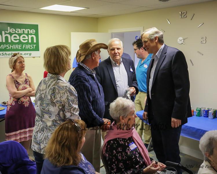 Meet & Greet with Democratic U.S. Senator Jeff Merkley of Oregon on Sunday, May 20, 2018 at the Rockingham County Democrats office in Exeter, NH.  [Matt Parker/Seacoatonline]