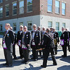 Hampton Academy Cornerstone Ceremony and Dedication by The Masonic Lodge of Masons, SAU90 School Board members and members of the construction groups on Saturday 7-21-2018, Hampton, NH.  Matt Parker Photos
