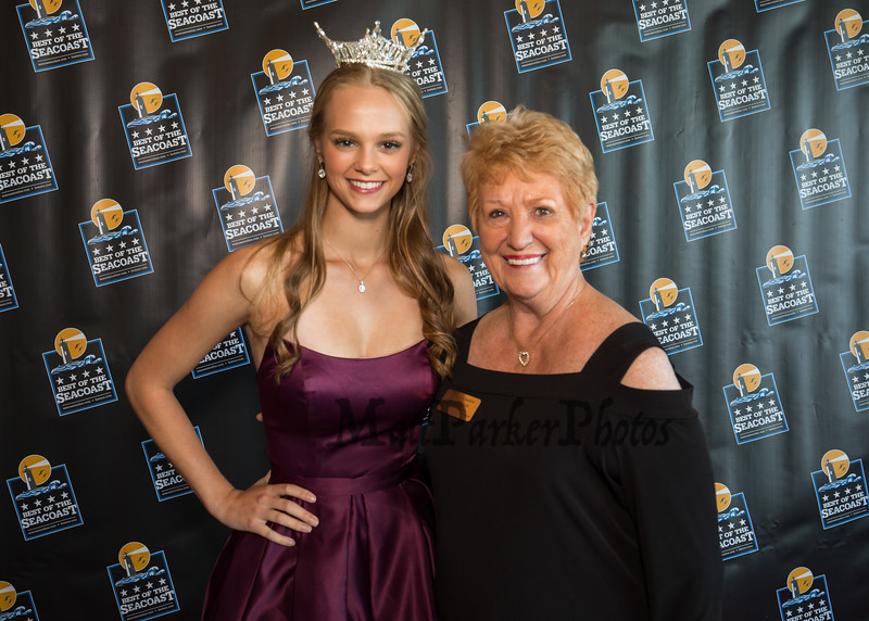 """Miss New Hampshire 2018 Marisa Moorhouse of Manchester was the MC at the """"2018 Best of The Seacoast"""" awards and dinner presented by SMG Seacost Media Group on Thursday evening 8-23-2018 @ The Blue Ocean Music Hall, Salisbury Beach, MA.  Matt Parker Photos"""