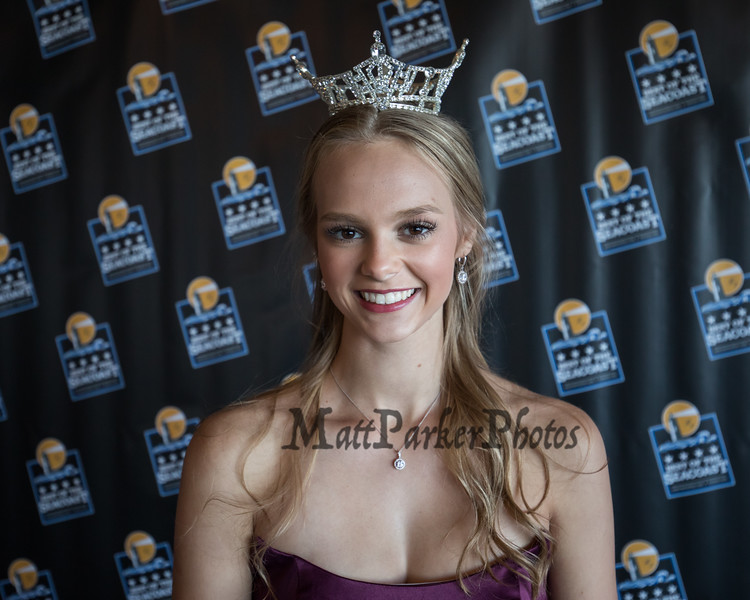 "Miss New Hampshire 2018 Marisa Moorhouse of Manchester was the MC at the ""2018 Best of The Seacoast"" awards and dinner presented by SMG Seacost Media Group on Thursday evening 8-23-2018 @ The Blue Ocean Music Hall, Salisbury Beach, MA.  Matt Parker Photos"