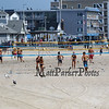 Beach volleyball games on Sunday 8-26-2018 at Hampton Beach, NH.  Matt Parker Photos