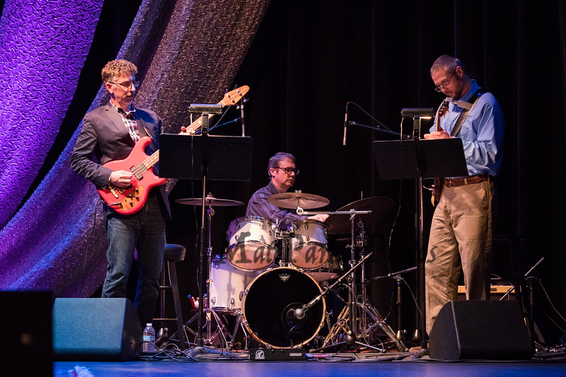 Dreadnaught band performs at The Music Hall prior to the introduction of internationally bestselling author Lee Child with his new Jack Reacher novel Past Tense on Tuesday 11-6-2018, Portsmouth, NH.  Matt Parker Photos